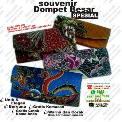 souvenir dompet batik spesial