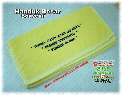 souvenir handuk terima kasih