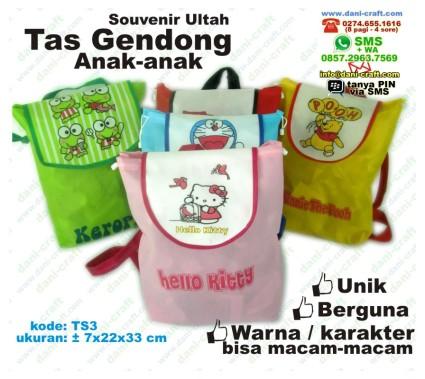 souvenir tas anak