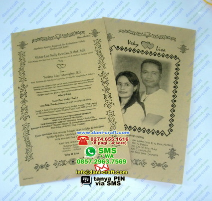 undangan pernikahan ambon