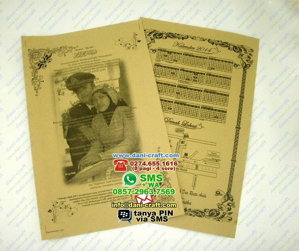 Undangan Pernikahan Mojokerto Unik Murah terkait dg: