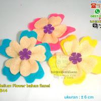 Bros Bunga Adenium Bahan Flanel