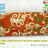 Dompet Batik Jumbo Special List Emas Lapisan Dalam Kain