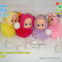 Gantungan Kunci Boneka Bayi Imut