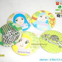 Pin Muslim Macam-macam
