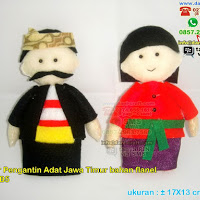 Boneka Pengantin Adat Madura Jawa Timur