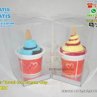 Souvenir Towel Ice Cream Cup