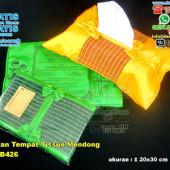 Undangan Tempat Tissue Mendong